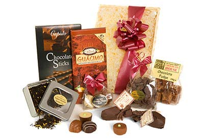 Example of Chocolate Hampers Presents