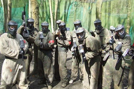 Exclusive - Paintballing - over 50 locations - 10 people go for 10
