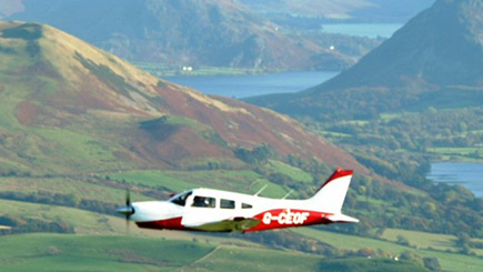 50 Minute Sightseeing Flight Over The Lake District for Three