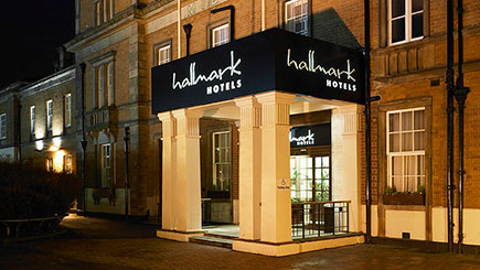 10% off Two Night Hotel Escape for Two at Hallmark Hotel Derby Midland