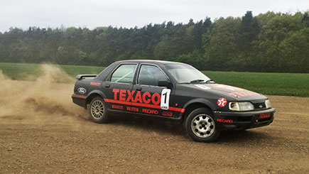 Example of a Rally Car Driving Experience Day