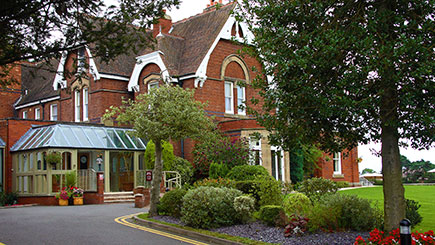 10% off Hotel Escape with Dinner for Two at Hallmark Hotel Stourport Manor