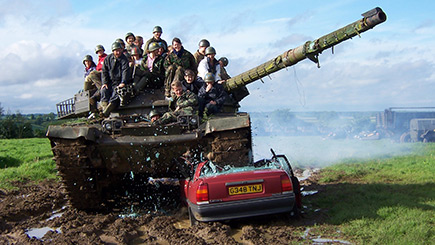Example of a Military Vehicle Tank Driving Experience Day